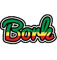 Bork african logo