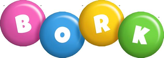 Bork candy logo