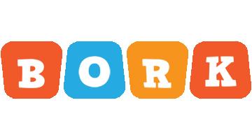 Bork comics logo