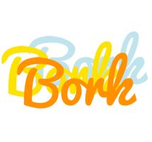 Bork energy logo