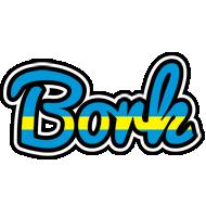 Bork sweden logo