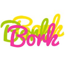 Bork sweets logo