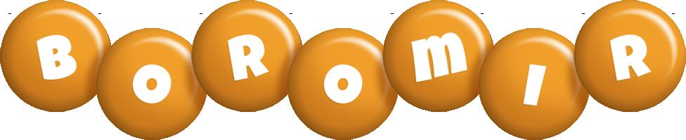 Boromir candy-orange logo