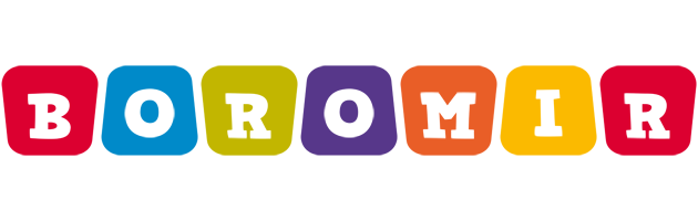 Boromir daycare logo