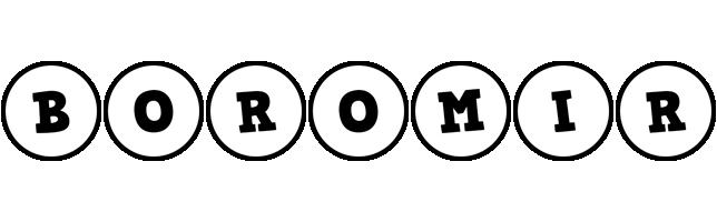 Boromir handy logo