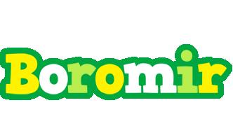 Boromir soccer logo