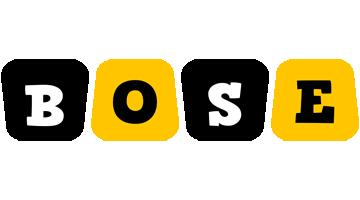 Bose boots logo
