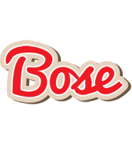 Bose chocolate logo