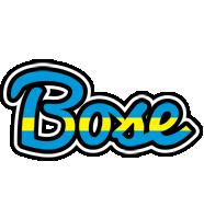 Bose sweden logo