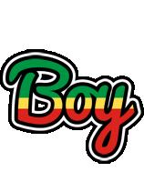 Boy african logo