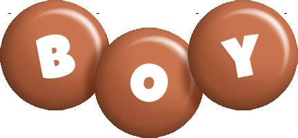 Boy candy-brown logo