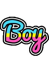 Boy circus logo