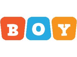 Boy comics logo