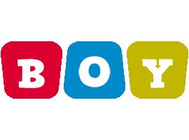 Boy daycare logo