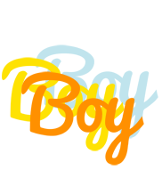 Boy energy logo