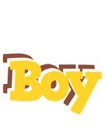 Boy hotcup logo