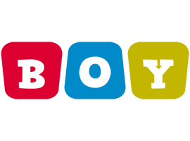 Boy kiddo logo