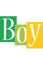 Boy lemonade logo