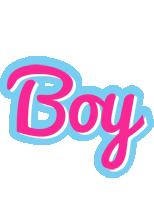 Boy popstar logo