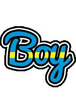 Boy sweden logo