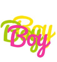 Boy sweets logo