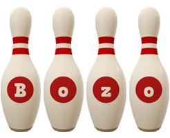 Bozo bowling-pin logo