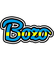 Bozo sweden logo