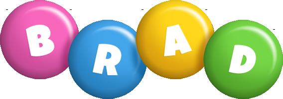Brad candy logo
