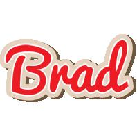 Brad chocolate logo