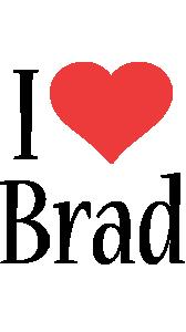 Brad i-love logo