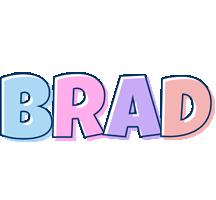 Brad pastel logo
