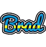 Brad sweden logo