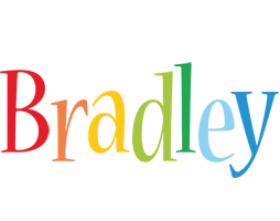 Bradley birthday logo