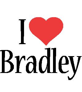 Bradley i-love logo
