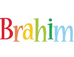 Brahim birthday logo