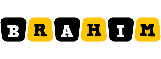 Brahim boots logo