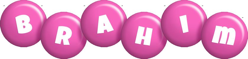 Brahim candy-pink logo