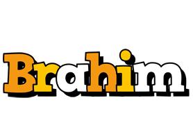 Brahim cartoon logo