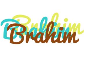 Brahim cupcake logo