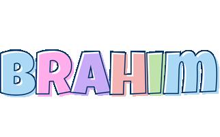 Brahim pastel logo