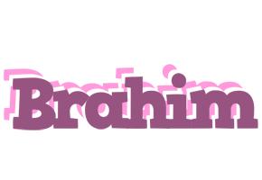 Brahim relaxing logo
