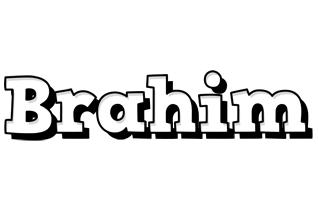 Brahim snowing logo