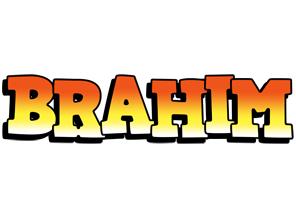 Brahim sunset logo