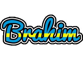 Brahim sweden logo