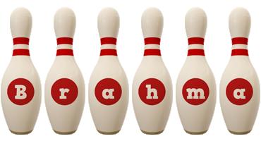 Brahma bowling-pin logo