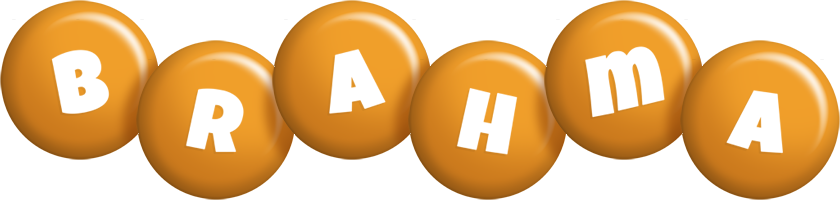 Brahma candy-orange logo