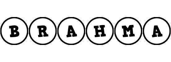 Brahma handy logo