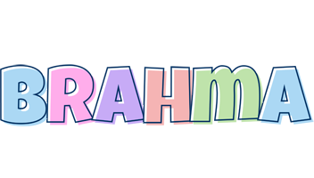 Brahma pastel logo