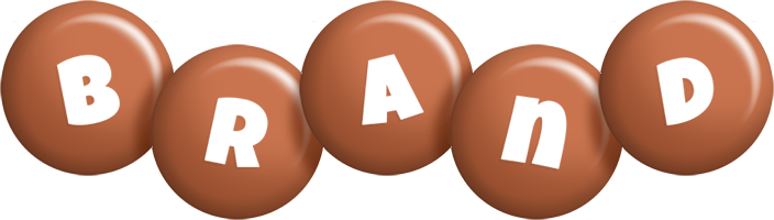 Brand candy-brown logo