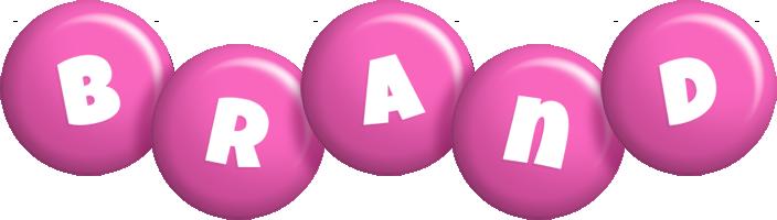 Brand candy-pink logo